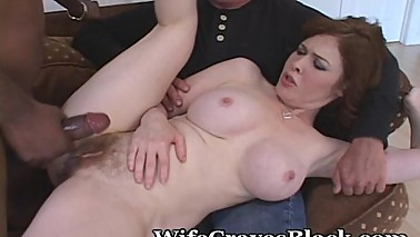 Creamy White Pussy Shared With Black Lover