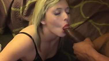 drunk wife does not realize that sucks in the husband and lover