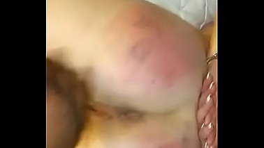 Slut mom gets spanked for birthday!