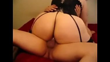 Latina BBW slut wife with a big butt fucking