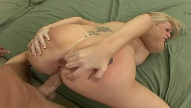 Swinger Cuckold Watches His Petite Blonde Wife Get Fucked