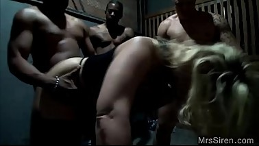 Wife Chained and Gangbanged