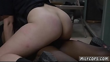 Sexy amateur housewife Domestic Disturbance Call
