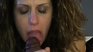 Shared Wife Enjoying BBC In Her Mouth