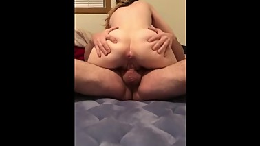 Wife takes a thick cock