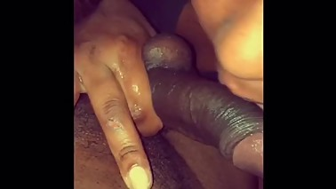 Brothers Wife Blowing BBC Catching Cum