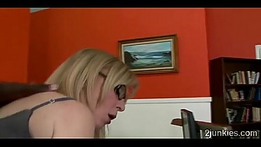 Gorgeous mature blonde helps son to keep his jobuckold-9761 02 big-1