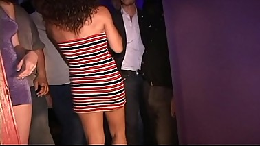 Sweet ordinary MILF wants hot gang fuck-New York sexclub sets it up for her