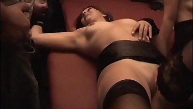 CumDrinkingWife - Gangbanged and Cum Drenched by 32 Men - Continue To Watch At CuckoldPlayGround.com