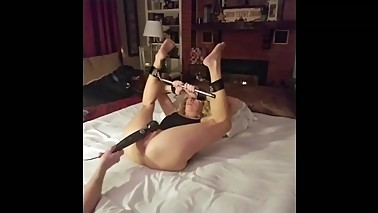 Submissive wife's gets her ass destroyed