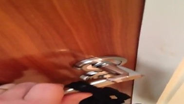 Cuckold Locked In Chastity Cage And Out Of Bedroom By Wife And Lover