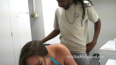 Slutty Wife meets BBC in Laundry Room preview