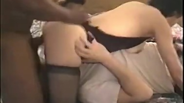 Cuckold husband cleans wife-2