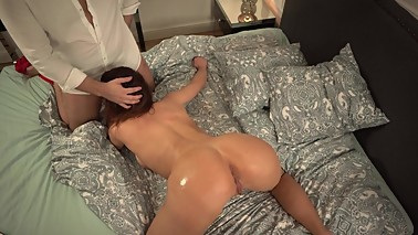My hot horny wife love masturbating and watching porno videos - 4K