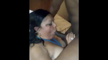 BBC fucks Latina Hotwife good