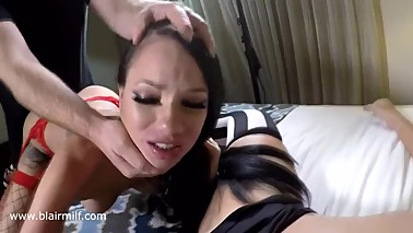 Raven Bay Fucks Me and My Wife. Includes Girl/Girl Strapon