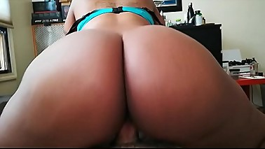 Reverse Cowgirl with Ebony Wife