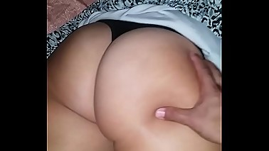 EricaKandy77 Hotwife Pawg Cuckold Big Ass Massage w/Thong and Upksirt Asshole Pussy Legs Stranger Touches Wife Cheeks wet and ready to fuck