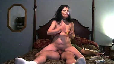 Sexy Wife Rides Cock and Gets A DP With A Hard Cock and Big Dildo