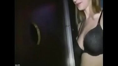 Beautiful wife sucks stranger through gloryhole - part 1 - SpyHappyEnding.com