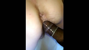 Wife Gets her Hairy Muff Pounded by BBC