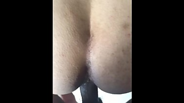 Interracial wife super wet doggy